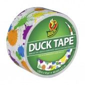 DuckTape Roll Paint Splatter 48 mm x 9,1 m (100-26)