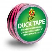 DuckTape Duckling Pink Zebra 19 mm x 4,5 m (102-03)