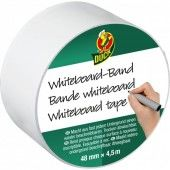 Duck tape Roll Whiteboard-tape 48 mm x 4.5 m (105-01)