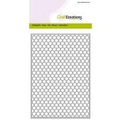 CraftEmotions Die - Cutting Grid - dots rond Card 10,5x14,8cm (115633/0603)