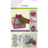 CraftEmotions Die - chocolate box butterfly Card A5 box 55x43x40 mm   (115633/1504)