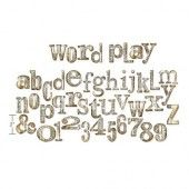 1 ST (1 ST)  Bigz XL Die Word Play 657837 Tim Holtz*