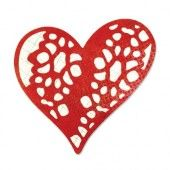 1 ST (1 ST) Thinlits Die Doily, Laced with Love 658911 Scrappy Cat*
