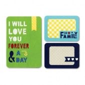 Sizzix Thinlits, Die Set 3PK - Forever & a Day 659749 Life Made Simple by Sizzix*