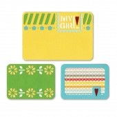 """Sizzix Thinlits"""" Die Set 3PK - My Girl 659754 Life Made Simple by Sizzix*"""