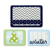"Sizzix Thinlits"" Die Set 3PK - Winter 659757 Life Made Simple by Sizzix*"