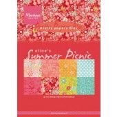 Marianne D Paperpad Eline`s Summer picnic A5 PB7056 (04-19)#