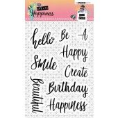 Studio Light Clearstempel A6 Create Happiness nr.346 (STAMPCR346)*