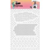 Studio Light Clearstempel A6 Create Happiness nr.349 (STAMPCR349)*