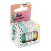 Studio Light Washi Tape Create Happiness nr.01 WASHICR01 (117014/1156)
