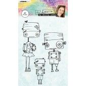 Studio Light Clearstempel A6 Shirly Cohen nr. 01 (STAMPSHC01)*