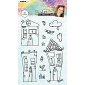 Studio Light Clearstempel A6 Shirly Cohen nr. 03 (STAMPSHC03)*
