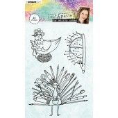 Studio Light Clearstempel A6 Shirly Cohen nr. 04 (STAMPSHC04)*