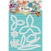 Studio Light Embossing Die Cut 3D Flower Dies nr. 180 STENCILSL180 (03-19)*