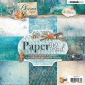 Studio Light Paper pad 36 vel Ocean View 3.0 nr 117 (PPOV117) (05-19)*