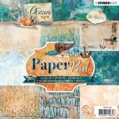 Studio Light Paper pad 36 vel Ocean View 3.0 nr 118 (PPOV118) (05-19)*