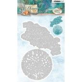 Studio Light Embossing Die 144 x 98 mm Ocean View nr.194 (STENCILOV194) (05-19)