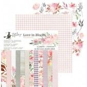 Piatek13 - Paper pad Love in Bloom 6 P13-253 6x6 (04-19)