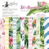 Piatek13 - Paper pad Let's flamingle 6 P13-277 6x6 (04-19)