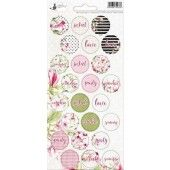 Piatek13 - Sticker sheet Party Hello Beautiful 02 P13-315X 10,5x23 cm (04-19)
