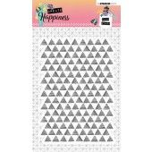 Studio Light Clearstempel A6 Create Happiness nr.348 (STAMPCR348)*