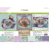 CraftEmotions Paper stack Botanical Nature 11 vel A4 (118040/0209)