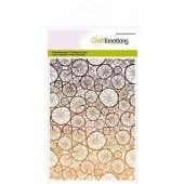 CraftEmotions clearstamps A6 -  achtergrond boomstammetjes (130501/1124*)