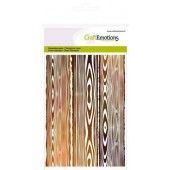 CraftEmotions clearstamps A6 -  achtergrond planken (130501/1125*)