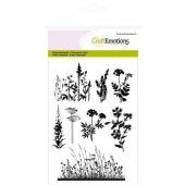 CraftEmotions clearstamps A6 - kruiden takken Life and Garden (130501/1237*)