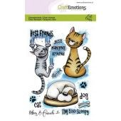CraftEmotions clearstamps A6 - Odey & Friends 2 Carla Creaties (06-19) (130501/1642)