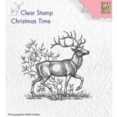 Nellies Choice - Clearstamp - Christmas Time - Rendier (CT020)