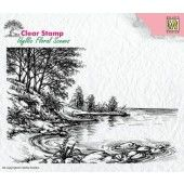 Nellies Choice - Clearstamp - idyllic Flora Waterkant 140x95mm (IFS006)*