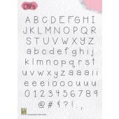Nellies Choice Clearstempel - alfabet Lars (ALCS002)