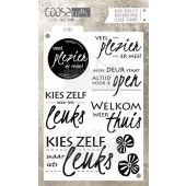 COOSA Crafts - clearstamps A6 - Leuks A6 (NL) (COC-020)