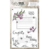 COOSA Crafts - clearstamps A6 - Envelope Flowers A6 (ENG) (COC-033)