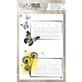 COOSA Crafts - clearstamps A6 - Envelope Fly duo A6 (ENG) (COC-034)