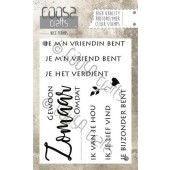 COOSA Crafts - clearstamps A7 - Zomaar (NL) (COC-023)