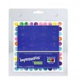 Gel Press Impressables - Repeat circles 10815-JEN-01 17,8x17,8cm  (10815-JEN-01)
