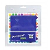 Gel Press Impressables - Squares in Squares 17,8x17,8cm (10815-SLM-02)