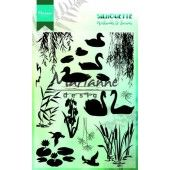 Marianne D - Clear Stamp - Silhouette Wetlands 150 x 115 mm (CS1017)