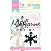 Marianne D - Cling Stamp - Tiny`s ijskristal  90 x 110 mm (MM2626)