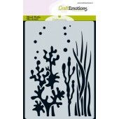 CraftEmotions Mask stencil ocean - planten A6 A6 (185070/0110)