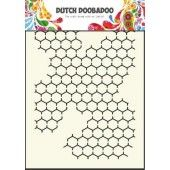 Dutch Doobadoo Dutch Mask Art stencil chicken wire - A5 (470.715.001)*