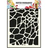 Dutch Doobadoo Dutch Mask Art stencil giraffe - A5 (470.715.003)*
