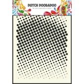 Dutch Doodaboo Dutch Mask Art stencil faded dots - A5 (470.715.004)