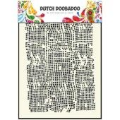 Dutch Doobadoo Dutch Mask Art stencil burlap - A5  (470.715.006)*