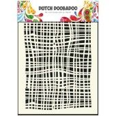 Dutch Doobadoo Dutch Mask Art stencil fabric - A5  (470.715.007)*