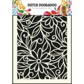 Dutch Doobadoo Dutch Mask Art stencil flower swirl - A5  (470.715.010)*