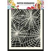 Dutch Doobadoo Dutch Mask Art stencil spiderweb - A5  (470.715.011)*
