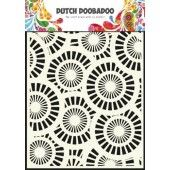 Dutch Doobadoo Dutch Mask Art stencil Circles A5  (470.715.013)*